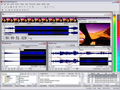 audio  Sony Sound Forge Pro Studio 10.0